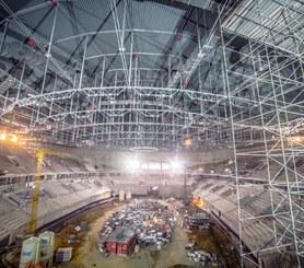 Salle omnisports Tauron Arena, Cracovie, Pologne