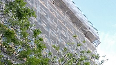 Restructuration d'un inmmeuble tertiaire, Paris, France