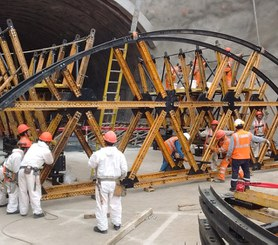 Tunnel Santa Rosa II, Lima, Pérou