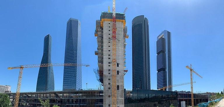 Caleido, un nouveau gratte-ciel à Madrid