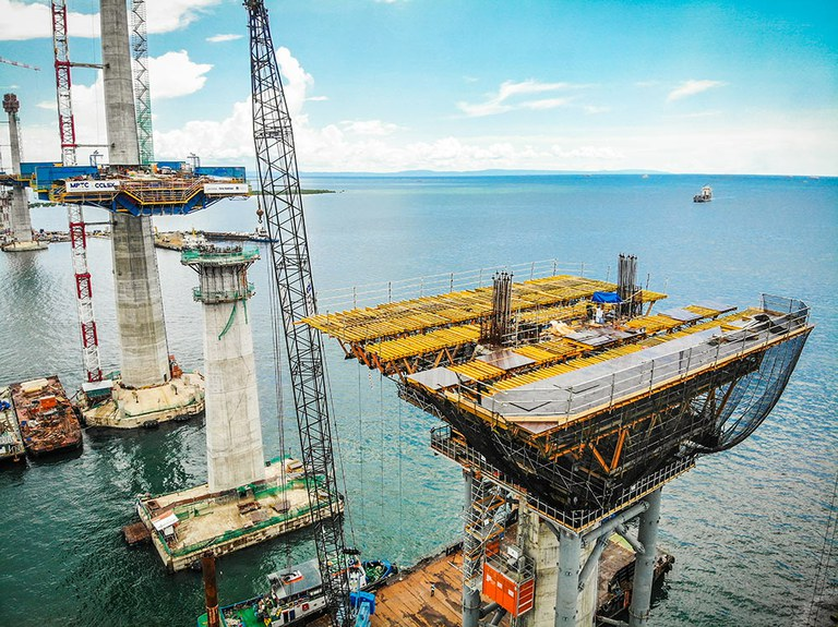 Coffrages ULMA pour une infrastructure de grande envergure aux Philippines
