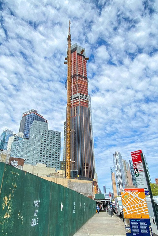 Le plus haut gratte-ciel de la skyline de Brooklyn