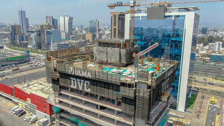 Nouvelle tour dans le centre-ville de Lima, au Pérou