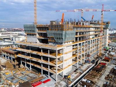 Solutions innovantes ULMA pour la construction de l'hôpital Galeazzi en Italie