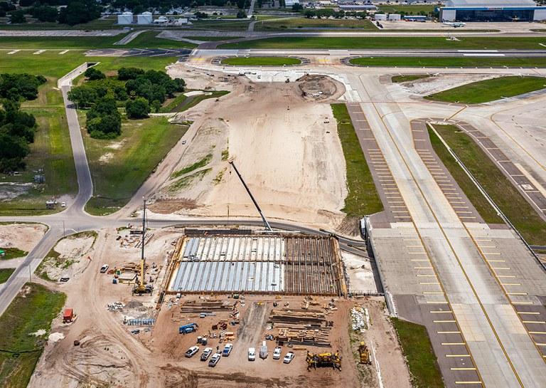Solutions préassemblées pour l'aéroport international de Tampa, États-Unis